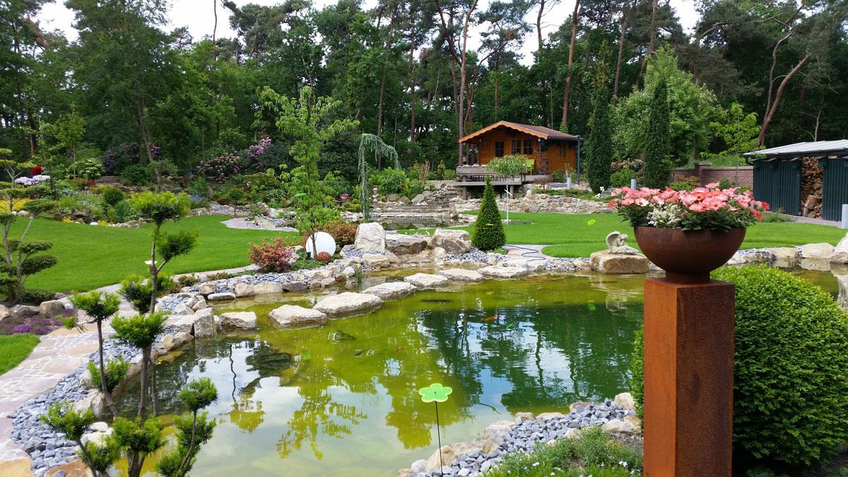 Teich nicht einfrieren garten design ideen um ihr for Gartenteich tiere